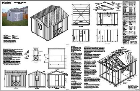 10-X-12-Gable-Storage-Shed-Plans