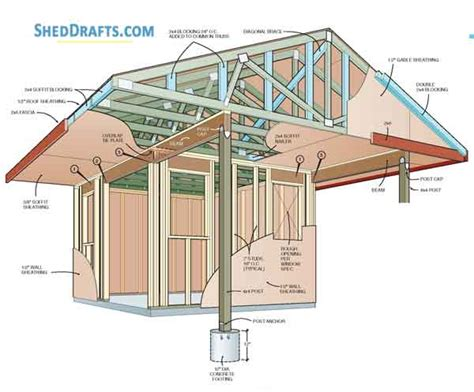 10-X-16-Colonial-Shed-Plans