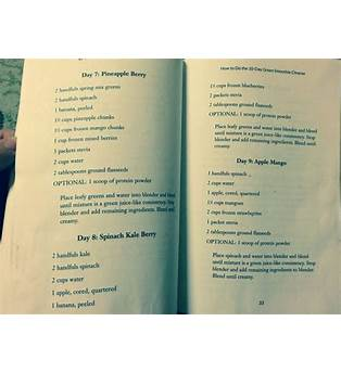 10 Day Juice Cleanse Recipes