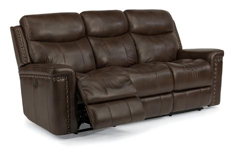 100 Inch Leather Reclining Sofa
