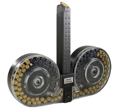 100 Round Drum For Glock 17 On Ar 15