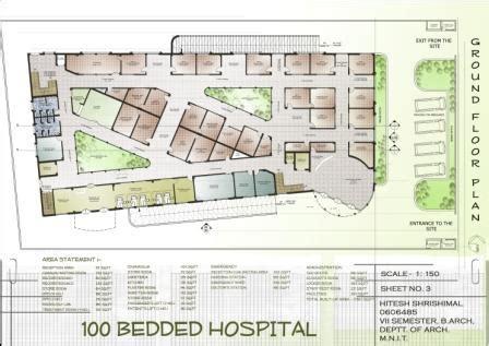 100-Bedded-Hospital-Floor-Plans