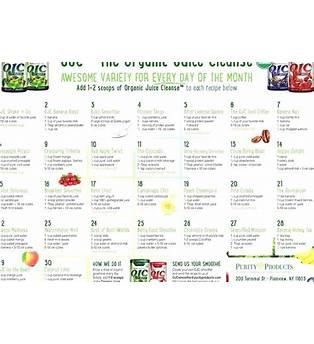 100 Day Juice Fast Plan