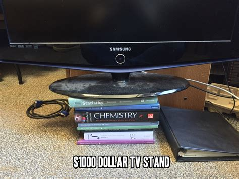 1000 Dollar Tv Stand Books
