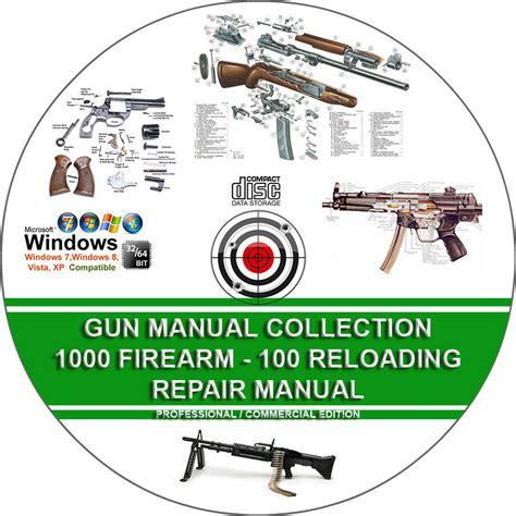 1000 Firearm Manuals 100 Reloading Manuals Hunting