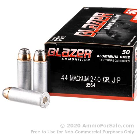 1000 Rounds 44mag Ammo