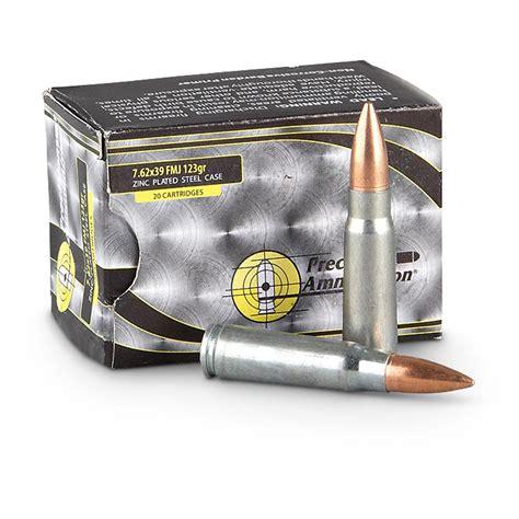 1000 Rounds Ammo Brass 7 62
