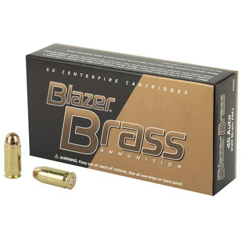 1000 Rounds Of Bulk 45 Acp Ammo By Blazer 230gr Fmj