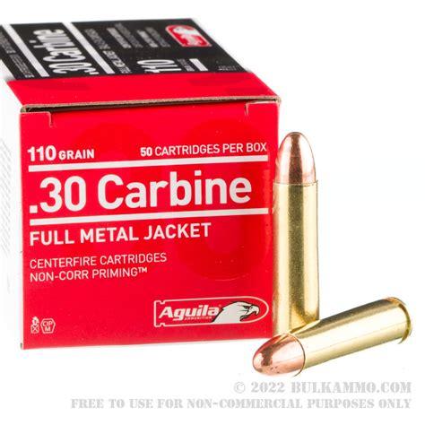 1000rds 30 Carbine Aguila 110gr Fmj Ammo Ammo To Go