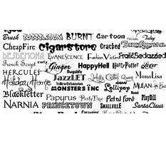 Best 1001 fonts