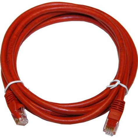 100ft Cat6 550 MHz Crossover Patch Cable - Red by LinkCable
