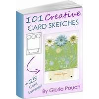 Guide to 101 creative card sketches: a must have for card makers