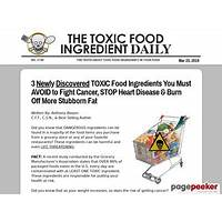 Compare 101 toxic food ingredients new conversion breakthrough