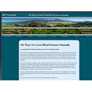 101 ways to lower blood pressure naturally coupon