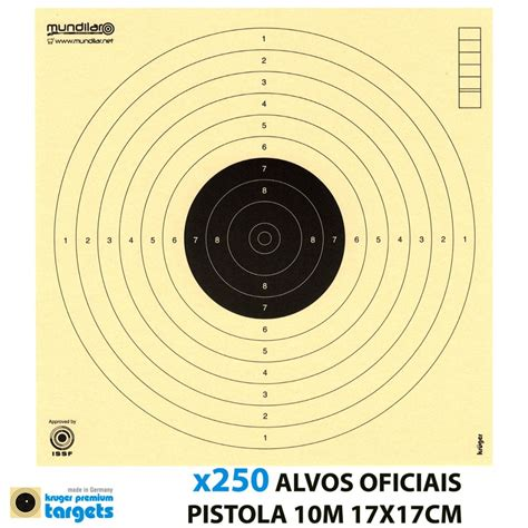 10m Air Rifle Targets Download
