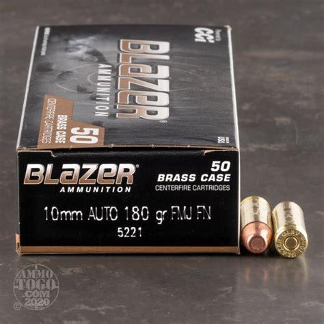 10mm Ammo Blazer Brass