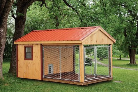 10x10 Dog Kennel Lean To Roof Plans