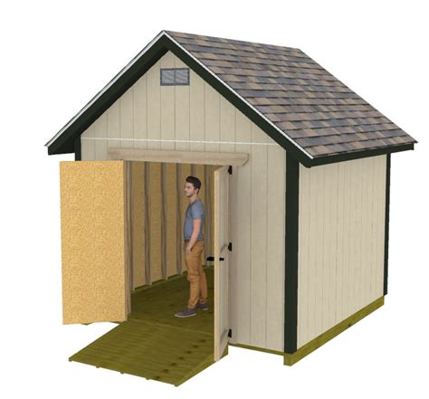 10x10-Gable-Shed-Plans