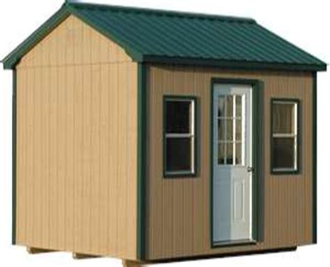 10x10 storage shed kits Image