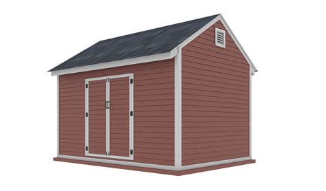 10x10 storage shed plans Image
