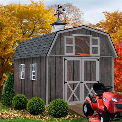 10x12 Wood Storage Shed Kits