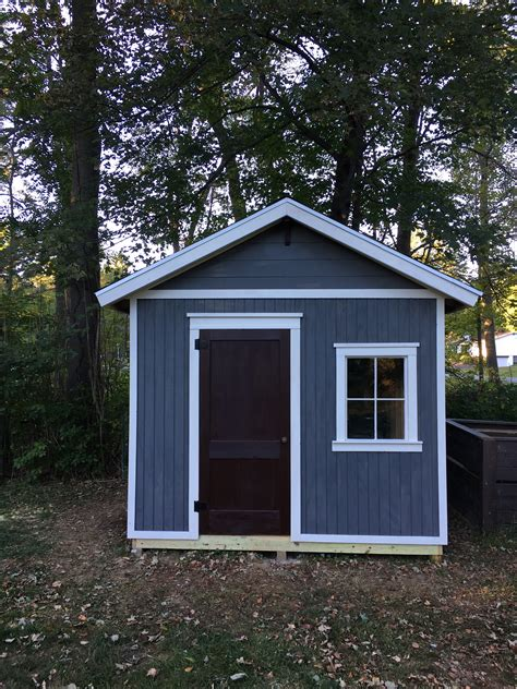 10x12 gable shed plans Image
