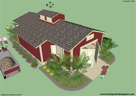 10x12-Gambrel-Shed-Plans