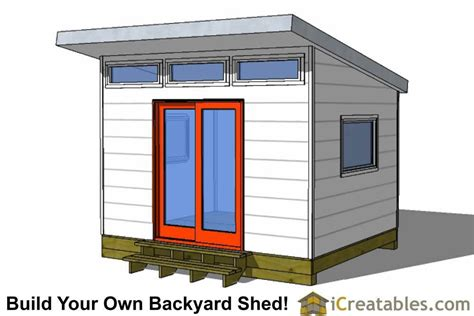 10x12-Office-Shed-Plans