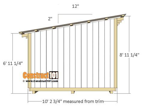 10x12-Shed-Door-Plan
