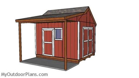 10x12-Shed-With-Porch-Plans