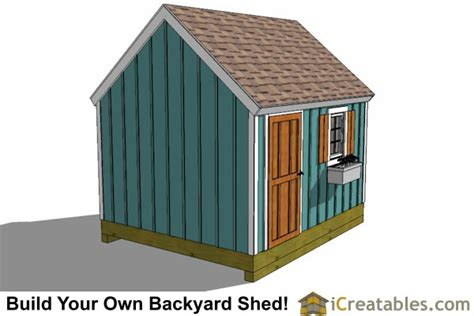 10x12 cape cod shed plans Image