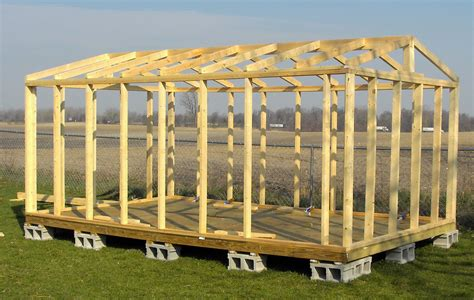 10x16 Shed 2x4 Plans