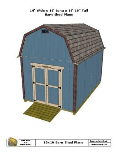10x16-Barn-Shed-Plans