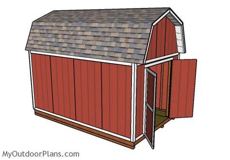 10x16-Gambrel-Shed-Plans