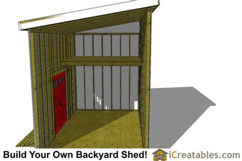 10x16-Lean-To-Shed-Plans