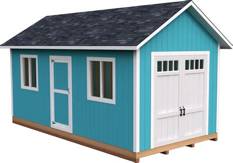 10x20 Outdoor Building Plans