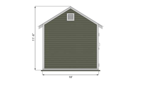10x20 Shed Plans And Material List