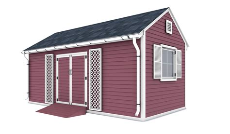 10x20 Shed Plans With Material List