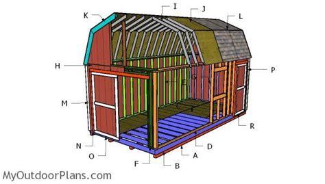 10x20-Gambrel-Shed-Plans