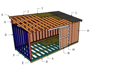 10x20-Shed-Roof-Plans