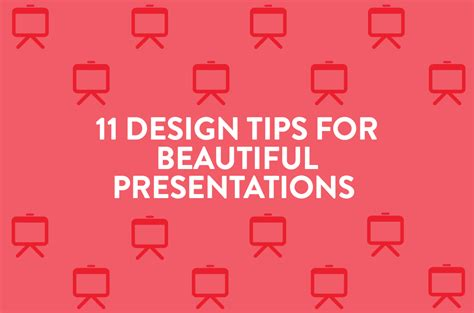 @ 11 Design Tips For Beautiful Presentations - Visage Co.