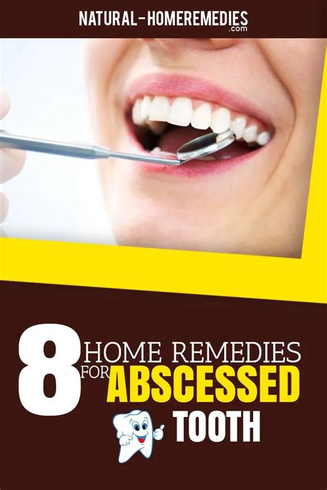 @ 11 Home Remedies For Abscessed Tooth - Home Remedies.