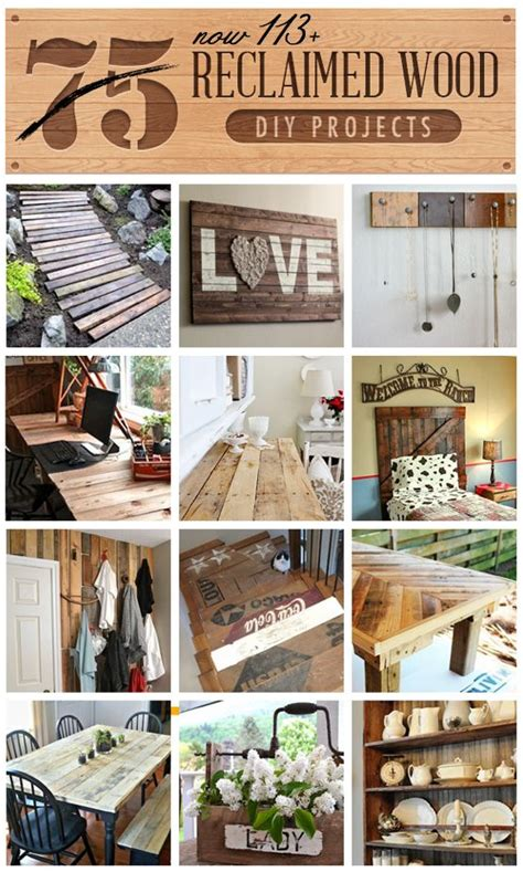 113 Reclaimed Wood Diy Projects