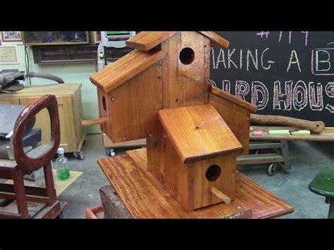 119 building a big fancy cedar birdhouse Image