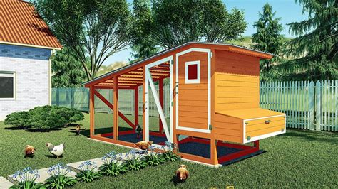 12 Chicken Coop Plans Diy