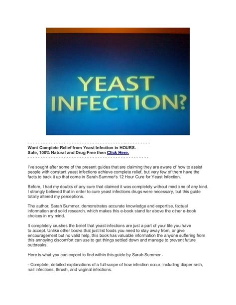@ 12 Hour Cure For Yeast Infection Review.