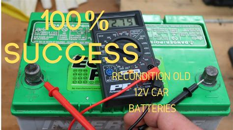 12 Volt Battery Reconditioning