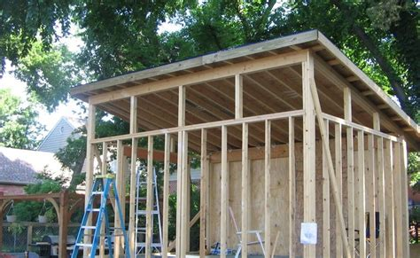 12 X 16 Shed Plans With Flat Roof