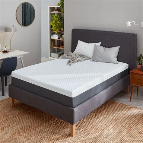 "12"" Medium Gel Memory Foam Mattress"