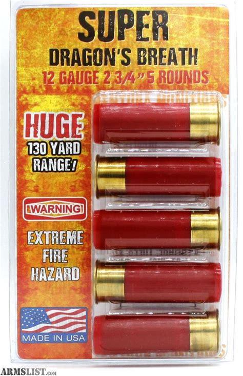 12 Gauge Ammo Dragon Breath